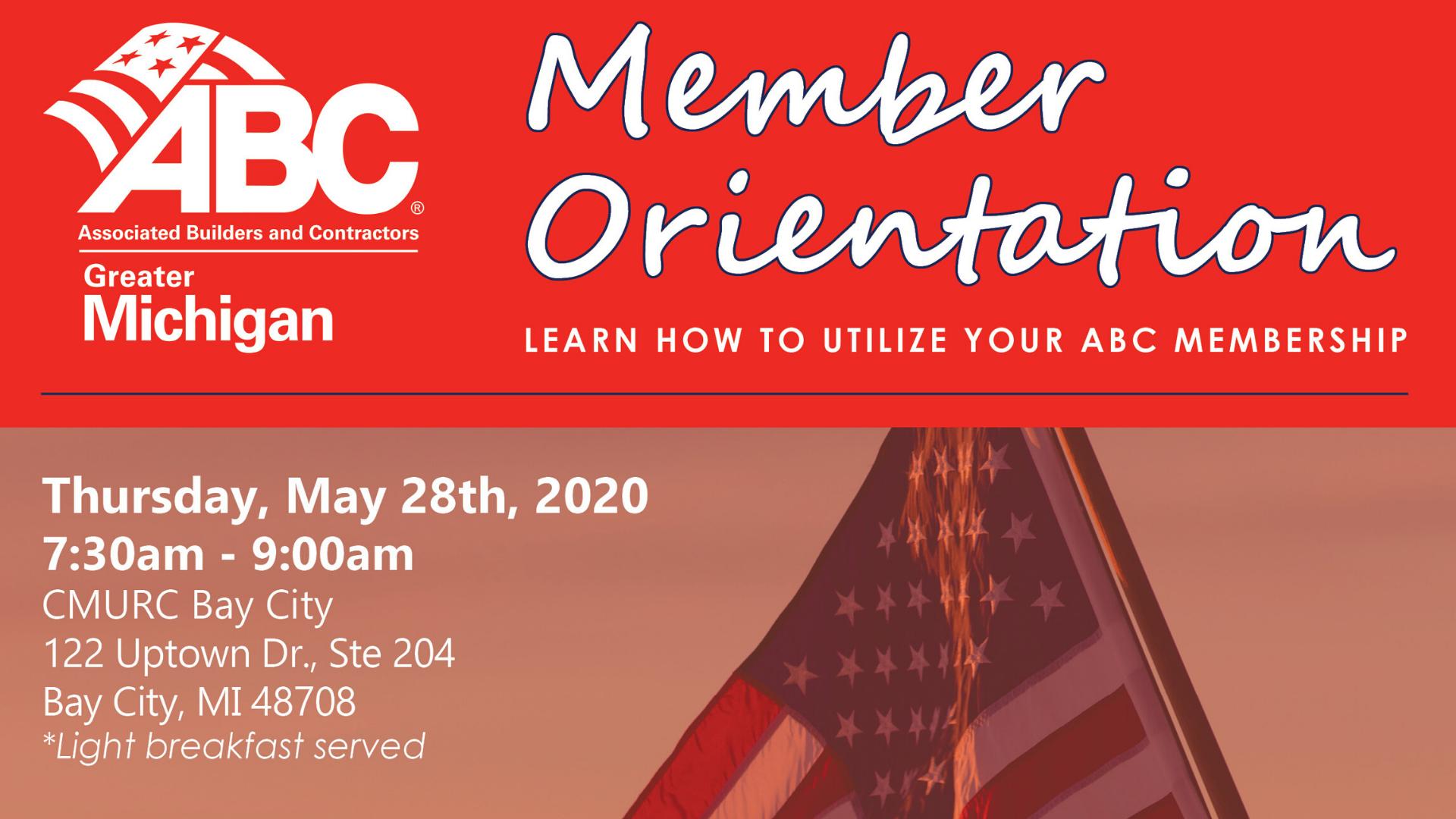 Member orientation flyer