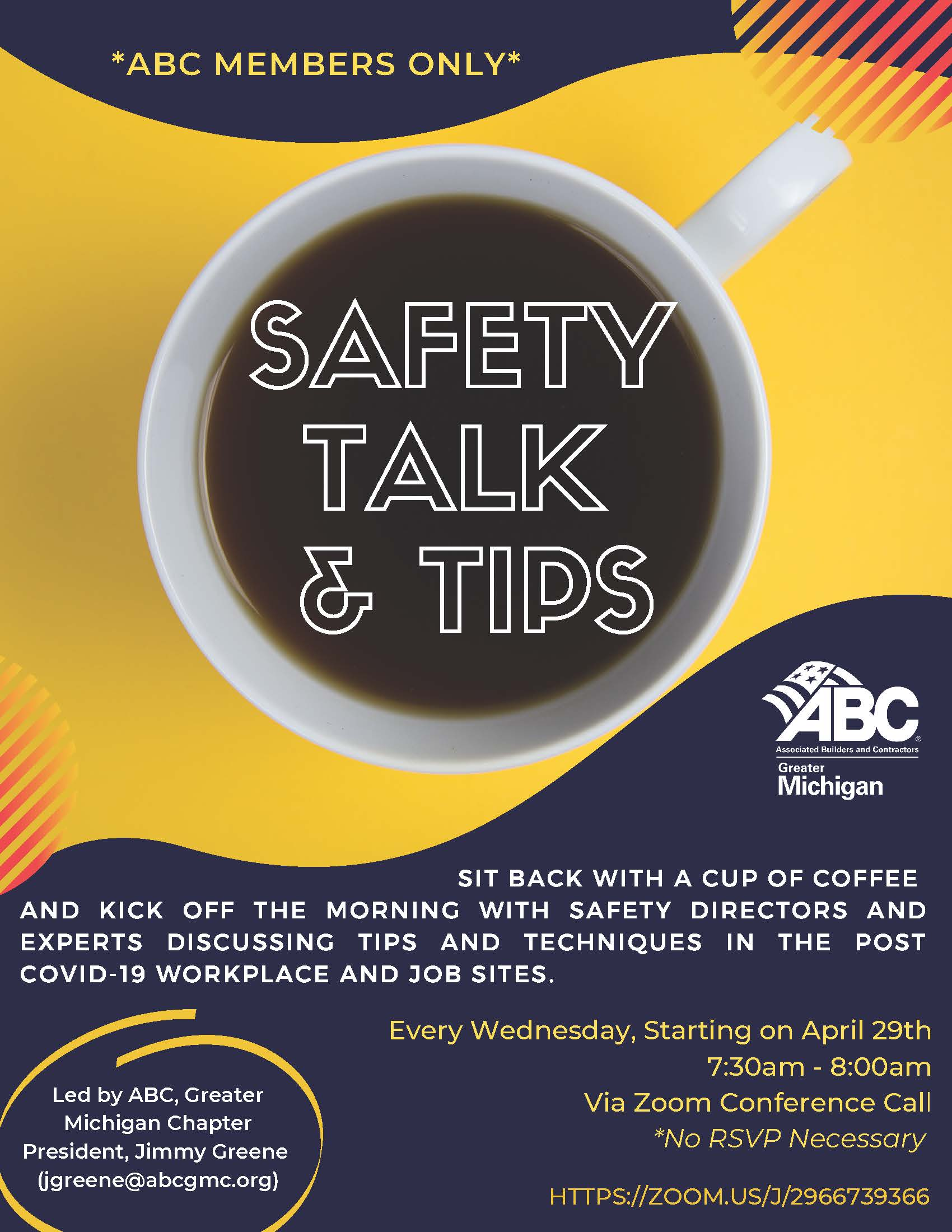 Safet Talk & Tips banner